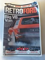 RETRO FORD MAGAZINE JUL 2011 ALAN MANN NAUGHTY ANGLIA RS2000 MALTESE DRAG CAR