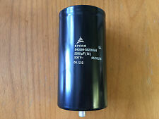 NEW EPCOS 2200 μF(M) 500 V 25/085/65 Screw-In Capacitor P/N B43584-S6228-M4