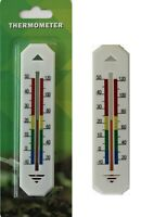 2 WALL THERMOMETER OFFICE HOME GARDEN INDOOR OUTDOOR MULTI-PURPOSE GREENHOUSE
