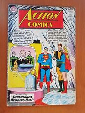 Dc Action Comics, Vol. 1 # 307 ( Dec. 1963) Supergirl's Wedding Day
