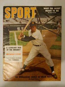 Sport Magazine June, 1956 (Willie Mays) No Label