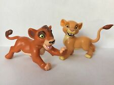 Disney Lion King Rare Kovu And Kiara PVC Cake Topper Toy Figures
