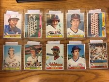 1979 Topps Baseball Ten (10) Card Lot - Rice Clark Perez Reds Dodgers Team NM-MT