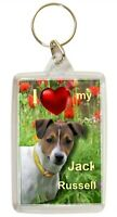 Jack Russell Terrier Keyring  Dog Key Ring Gift Dog Xmas Gift Mothers Day Gift