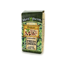 Mate Factor Organic Yerba Mate Fresh Green Loose Tea 12 oz Pkg
