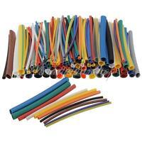 "144pcs 2:1 Heat Shrink Tube Tubing 2.8"" Sleeving Wrap Cable 12 Color 6 Sizes Kit"