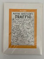 Pictura Mattias Adolfsson's TRAFFIC Adult Kids Coloring Book Panoramic