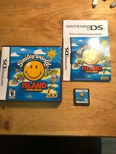 Smiley World Island Challenge (Nintendo DS, 2009) Complete Mint Works Great
