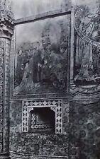 Fresco Wall, Notre Dame de Valère, Sion, Switzerland, Magic Lantern Glass Slide