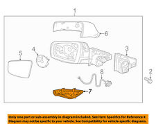Buick GM OEM 10-16 LaCrosse-Turn Signal Light Left 20760211