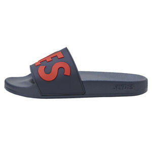Slydes NEW Men's Deflect Sliders Navy Red BNWT