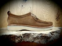 NICHOLAS DEAKINS // Bowling ND101 // Mens Tan Suede Moccasin Shoes // NEW!!!