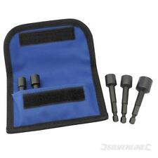 5pc Engineers Damaged Bolt Remover Extractor Puller Set with Storage Wallet New