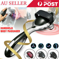 Electric Handheld Infrared Heat Massager Percussion Machine Wand Back Full Body#