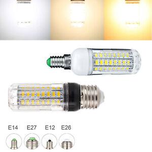 Dimmable LED Corn Light Bulbs E12 E26 E27 E14 B22 20W 5730 SMD 12V Lamps RC839