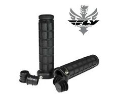 Fly Racing Grip Lock Grips Snowmobile Thumb Throttle Snow Riding Trail Offroad