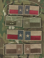 KANDAHAR WHACKER AFSOC TACP JTAC DEATH on CALL PENCIL POCKET TEXAS FLAG R/L SET