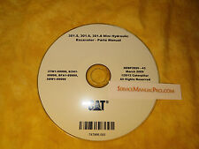 SEBP2820 CAT Caterpillar 301.5 301.6 301.8 Mini Excavator Parts Manual Book CD