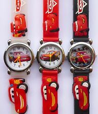 OROLOGIO SAETTA MCQUEEN dal film CARS in PISTON CUP, ROUTE 66, RADIATOR SPRINGS