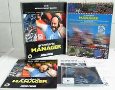 PC DOS: Grand Prix Manager - Microprose Software 1995