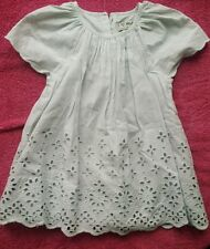 6-9 months girl next pretty summer blue grey dress