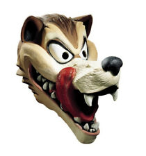 Hungry Wolf Latex Mask Adult Big Bad Little Red Riding Hood Face Fairy Tale