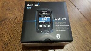 Garmin Edge 810 GPS Bike Computer, Original Box,  with extras + Maps