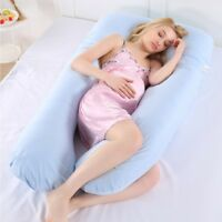 Comfortable U Shape Full Body Maternity Support Belly Contoured Pregnancy Pillow