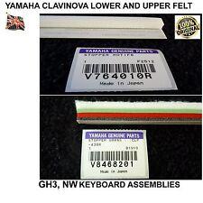 Yamaha Clavinova Filz legen sie für CLP CVP Digital-Piano GH3 NW NL2 NWGKS