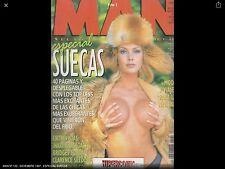 MAN Nº 122 , DICIEMBRE 1997 , ESPECIAL SUECAS -  SPANISH MAGAZINE VINTAGE