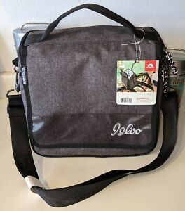 IGLOO Daytripper Commuter Bag 12 Can Cooler w/ Bike Straps NWT