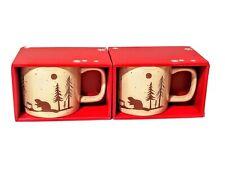 Tim Hortons Holiday Mug 474mL Set of 2 Beavers