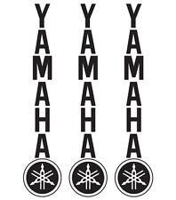 Yamaha Fork Motorcycle Motorcross Vinyl Sticker Decals SUPERMOTO WR RX2