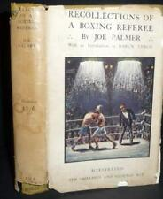 Boxing Referee Joe Palmer , England Boxing History 1927 1stEd DJ