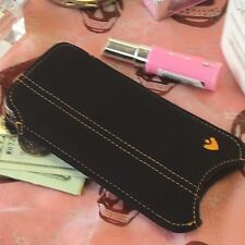 iPhone 5c Case Black Cotton Twill NueVue Screen Cleaning Sanitizing Pouch