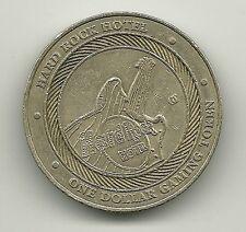 HARD ROCK HOTEL $1 Gaming Token Las Vegas One Dollar Casino NV Coin Collectible
