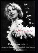 Stefanie Seeländer Autogrammkarte Original Signiert ## BC 28841
