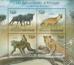 Animals Africa Togo Mint 2744