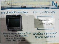 "New 19"" Sea Line MK3 SL190-01.MON.03-0001 ECDIS Radar LCD Marine Display MKIII"