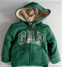 NEW! Baby Gap Boys Cozy Hoodie Hooded Jacket with size 2 years 2T