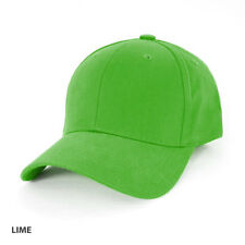 Heavy Brushed Cotton Cap ( AH230 ) - LIME
