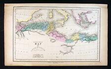 1859 Gall & Inglis Map - Ancient North Africa Libya Mauretania Cyrene Roman Era