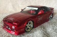 Jada Import Racer! NISSAN 240SX 1:24 Diecast Metal Candy Apple Red VHTF! #2