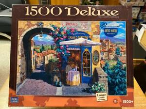 "Mega Puzzles 1500 Pieces ""Antico Martin"" Jigsaw Puzzle 100% Complete NEW-Sealed!"