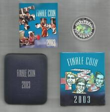 2003 FIVE DOLLAR * FINALE COIN* *HOLOGRAM* PROOF COIN - 1.156 OUNCE PURE SILVER