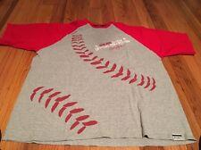 Vintage Sean John Tee Shirt XXL Red And Gray