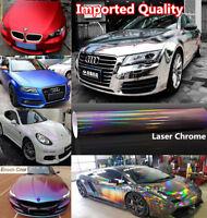 Metallic Pearl Chameleon 3D 4D 5D 6D Carbon Fiber Chrome Car Wrap Film Vinyl
