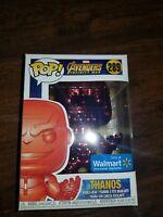 FUNKO POP! #289 Infinity War - Thanos (Red Chrome) - Walmart Exclusive