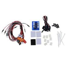 12 LED Clignotant Kit Système Phare Eclairage Pour 1/10 Rc Voiture Camion