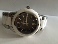 AQUASWISS WHITE Ceramic Stainless Steel Swiss mens Watch  $1,400 NEW